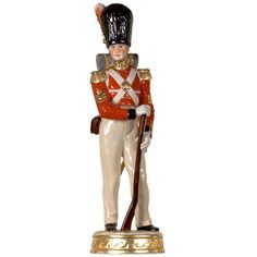 Handmade Handpainted Figurines From Germany Are Based On Designs That Were Particularly Popular In The Century They Range From To Scully And Scully, Military Figures, Antique Toys, Accent Pieces, Miniatures, Wonder Woman, Hand Painted, Ceramics, Superhero