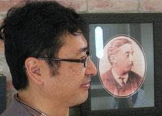 Lafcadio Hearn's Great-Grandson Bon Koizumi Visits New Orleans Author's Apartment