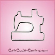 View Sewing Machine Cookie Cutter 2 in detail