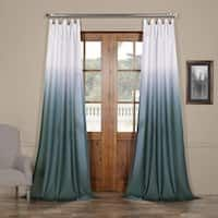Shop Ombre Aqua Faux Linen Sheer Curtain and drapes at half price drapes. Get well designed Faux Linen Sheers curtains for window coverings. Sheer Linen Curtains, Sheer Curtain Panels, Rod Pocket Curtains, Grommet Curtains, Drapes Curtains, Drapery, Bedroom Curtains, Kitchen Curtains, Blackout Curtains