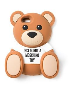 Moschino Teddy Bear Iphone 6 Case - Parisi - Farfetch.com