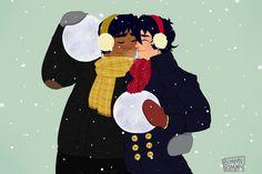 Snow Heith 2 by on DeviantArt Lgbt, Persona 5 Anime, Keith Kogane, Voltron Ships, Snowy Day, Kids Shows, Voltron Fanart, Nerdy, Fan Art