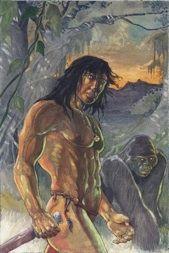 Tarzan de Tom Floyd - desenho 1