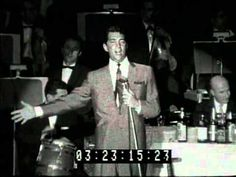 Dean Martin at the 1960 Sands Summit Closing Night! Oh baby, pour the wine!