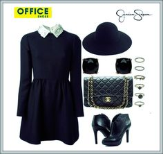 Beautiful outfit with Jessica Simpson shoes.
