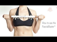 Learn how to use the FasciaBlaster® on your entire body! Make sure to use it on bare skin with a massage oil or coconut oil! The FasciaBlaster® is the only d...