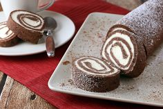 Keto Chocolate Roll Cake | Ruled Me (If it's Keto then it's Atkin's Induction friendly!)