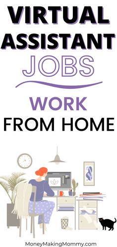 If you're interested in working from home as a virtual assistant -- there is good news! There are many companies hiring virtual assistants. This list includes over a dozen companies hiring. And you'll be glad to know that a few of these companies hire beginner and entry level virtual assistants. Start applying today and begin your workf from home career as a virtual assistant! Work From Home Companies, Work From Home Tips, Make Money From Home, Work For Hire, Successful Business Tips, Companies Hiring, Virtual Assistant Jobs, Job Work, Quitting Your Job