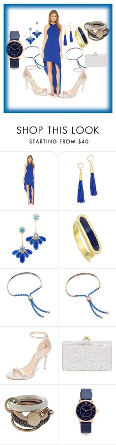 """""""Party  Attire"""" by paige-brrian ❤ liked on Polyvore featuring Halston Heritage, Shashi, Kate Spade, Monica Vinader, Rachel Zoe, Ashlyn'd, SPINELLI KILCOLLIN and Marc Jacobs"""