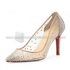 Will You Contribute Yourself Into The Best Christian Louboutin Body Strass Mesh Red 100mm Leather Grenadine