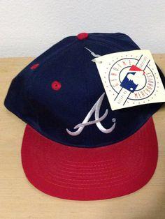 Annco Atlanta Braves MLB Baseball Snapback Hat Cap vtg Deadstock on Etsy, $45.00