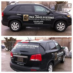 Speedpro Imaging London's newest decal work done for Paul Davis Systems!