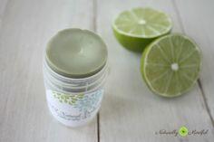 DIY all natural deodorant