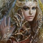 Miniature painting artist Svetlana Belovodova, Russian craftswoman, Dmitrov, Moscow, Fedoskino art school, beautiful fairy tales, exclusive jewelery