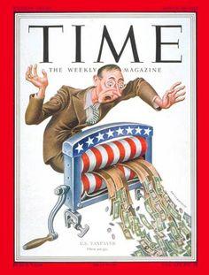 1952-03 US Taxpayer Copyright Time Magazine