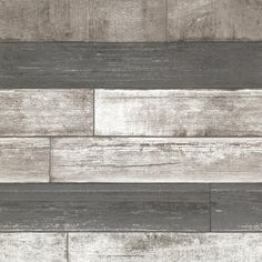 Brewster 8 in. W x 10 in. H Dustin Grey Wood Wallpaper Sample (£4.09) ❤ liked on Polyvore featuring backgrounds, wallpaper, rooms, borders, phrase, picture frame, quotes, saying and text