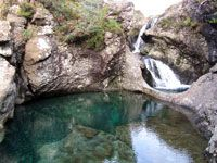 Fairy Pools - At foot of the Black Cuillins near Glenbrittle