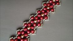 Браслет из бусин. МК. Tutorial: beaded bracelet. DIY