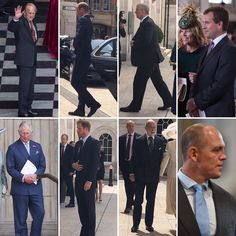 June 10, 2016. The Royal Men who attended the Service of Thanksgiving .
