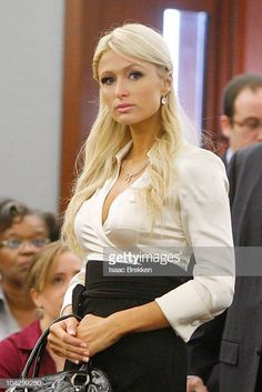 Paris Hilton appears in court at the Clark County Regional Justice Center September 2010 in Las Vegas, Nevada. Hilton pleaded guilty to two misdemeanors, drug possession and obstructing an. Get premium, high resolution news photos at Getty Images Beautiful Paris, I Love Paris, Beautiful People, Paris Hilton, Gianni Versace, Clark County, Video Site, Fantasy Women, Badass Women