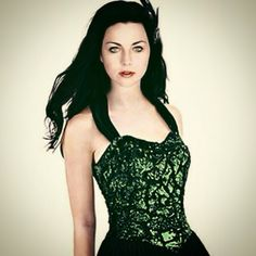 Amy in green