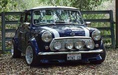 Wide classic Mini Cooper