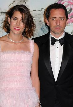 Tying the knot...Charlotte Casiraghi is reportedly engaged to her French actor boyfriend Gad Elmaleh and the couple are expecting their first child
