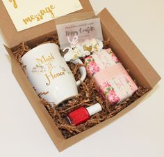 'ask your bridesmaids' is creating carefully curated gift boxes specialized in…