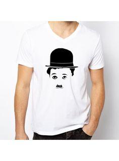 Tshirt (Charlie Chaplin Printed)