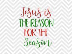 Jesus is the Reason for the Season christmas nativity christmas star for unto us a child is born keep Christ in Christmas SVG file - Cut File - Cricut projects - cricut ideas - cricut explore - silhouette cameo projects - Silhouette by KristinAmandaDesigns on Etsy