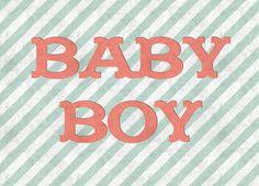 Ansichtkaart - Baby Boy