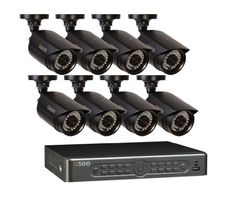 $500.... 100 ft night vision 1 TB DVR storage 8 channel 8 cameras 8 High Resolution cameras Q-See QT5682-8E3-1 8-Channel 960H Security Surveillance System with 8 High-Resolution 960H/700TVL Cameras and 1 TB Hard Drive (Black) Q-See http://www.amazon.com/dp/B00I3DOZHK/ref=cm_sw_r_pi_dp_jcLNub1YF87Y6