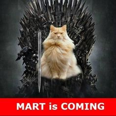 Mart is Coming :)