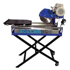 Shop Bolton Pro Wet Tile Saw with Extendable Table at Lowe's Canada. Find our selection of concrete saws at the lowest price guaranteed with price match. Tile Saw, Concrete Tiles, Drafting Desk, Tools, Concrete Roof Tiles, Appliance
