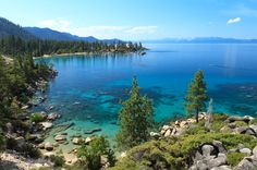 Lake Tahoe - number 10 on the list of top 10 lakes in the United States
