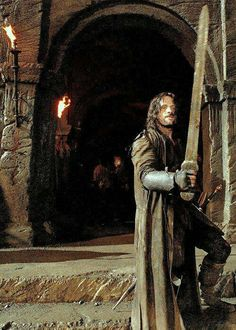 The Lord of The Rings: The Two Towers - Aragon in Helm's Deep