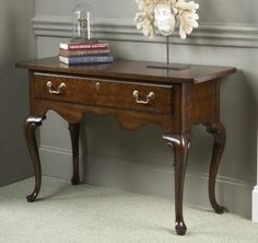 Fine Furniture Design™  Waterbury Console  Category: Console Tables Style: Traditional Collection: American Cherry Classic antique styling featuring updated scale, function and beauty for today's home.