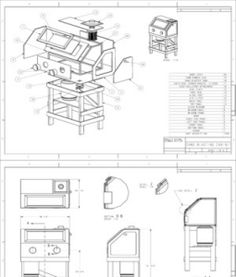 Popular Mechanics Plans-Homemade Sandblasting Cabinet Blueprints