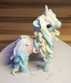 Polymer Clay Unicorn, Pony, Filly, Fimo Einhorn https://www.facebook.com/EmmasWerkstatt/