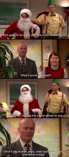 Creed The Office // Christmas Creed The Office, Us Office, The Office Show, Office Fan, Office Quotes, Office Memes, Tv Funny, Stupid Funny, Funny Memes