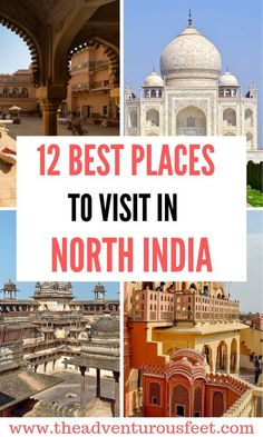 12 best places to visit in North India Planning to travel to India? Here are the best places to to visit in North India from Delhi, Jaipur, Udaipur, Agra to Jodhpur. Kerala Travel, India Travel Guide, Asia Travel, Travel Tips, Travel Destinations, Travel Guides, Vietnam Travel, Travel Goals, Greece Travel