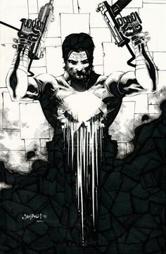 Frank Castle // The Punisher Created by Jimbo Salgado || FB