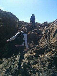 등산 중 여성의 등에서도 코디되어진 에버키입니다 :)