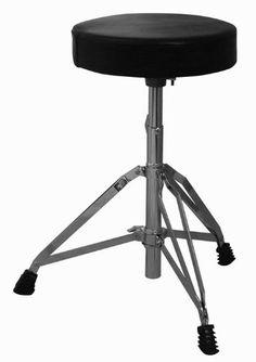 Black Friday Cannon Drum Throne from Cannon  sc 1 st  Pinterest & Drummeru0027s Chair Gibraltar Drum Throne Stool w/Back u0026 Vinyl Seat ... islam-shia.org
