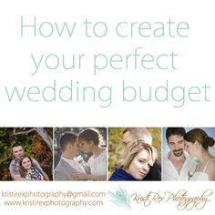 Create the perfect wedding budget for you - Kristi Rex Photography, Stratford, ON