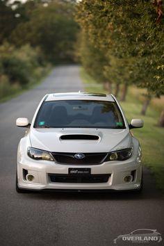 White 2011 Subaru WRX