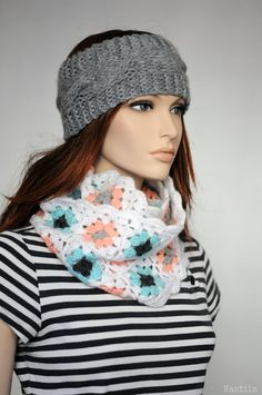 This lovely cable knit headband is a great alternative to hat! Your ears are protected from cold and wind while youre outside, and you dont need to take