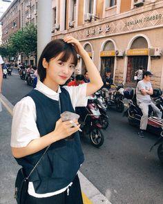 Asian Short Hair, Girl Short Hair, Makeup Korean Style, F4 Boys Over Flowers, Shot Hair Styles, A Love So Beautiful, Meteor Garden, Chinese Actress, Stylish Hair