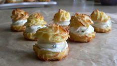 sýrové profiteroles