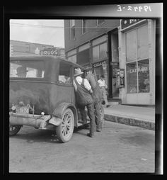 August 1938.  Rogers, Arkansas. Small town